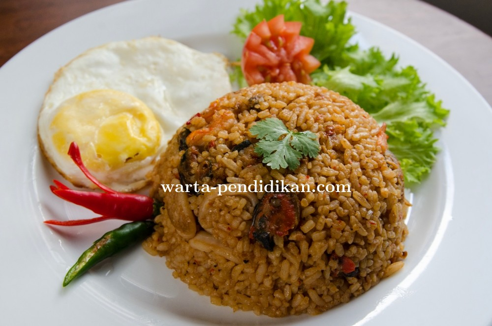 Enaknya menu masakan Padang